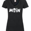 T-Shirt Moin V-Ausschnitt