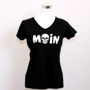 T-Shirt Moin Frauen V-Ausschnitt