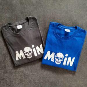 Moin T-Shirt Totenkopf