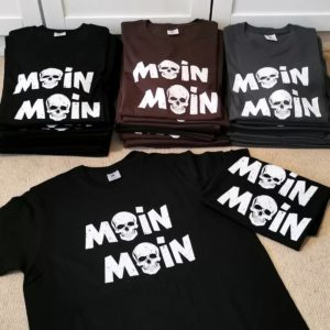 T-Shirt Moin Moin Totenkopf